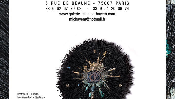 Galerie Michel Hayem – vernissage le mardi 2 juin 2015