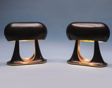 Lampes «Gouttes d'or»